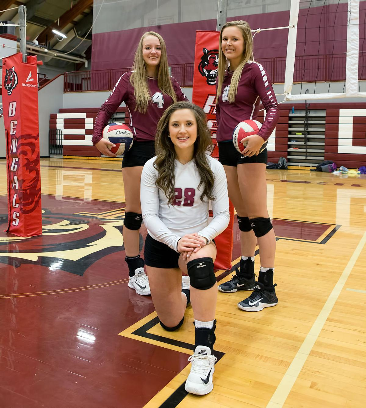 Volleyball; HHS volleyball seniors