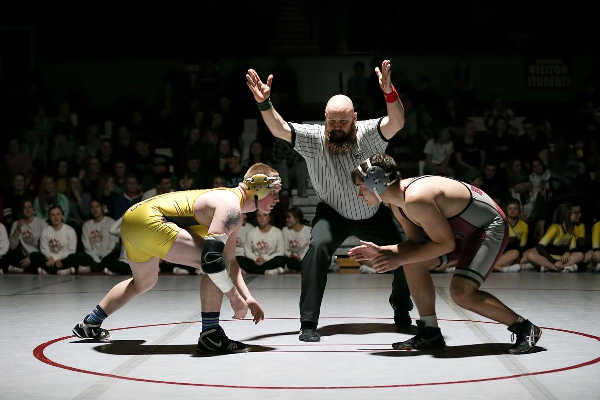 wrestling; HHS vs CHS