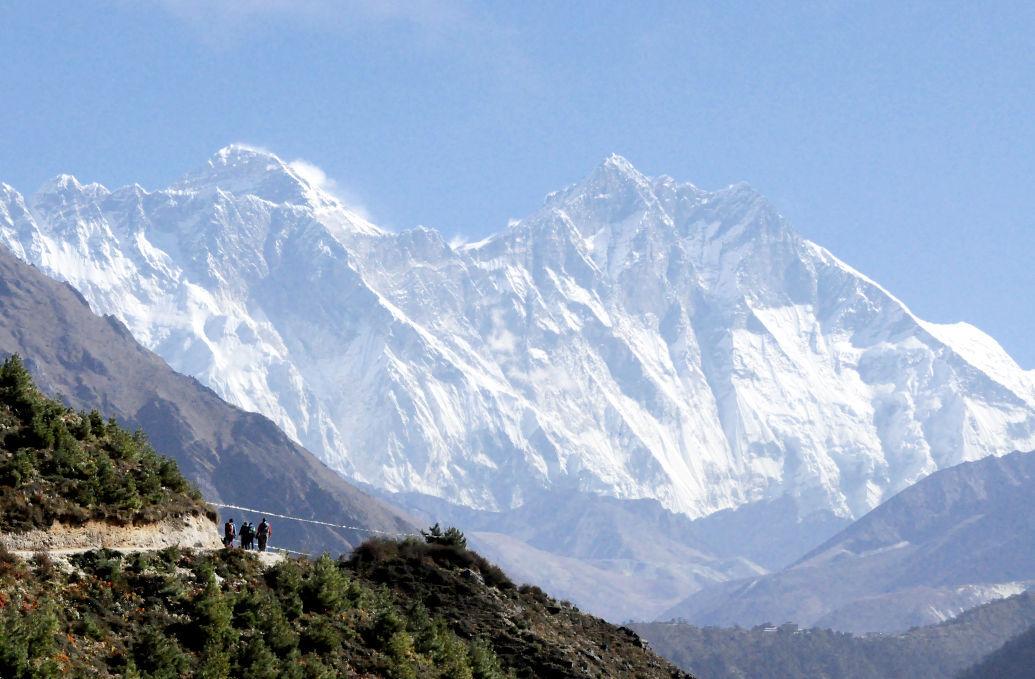 Nepal's Sagarmatha National Park (IR copy)