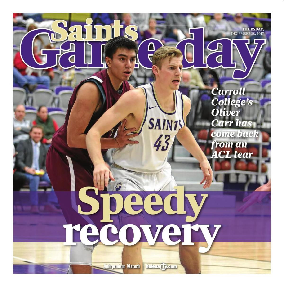 Carroll College Saints Game Day - December 28, 2017