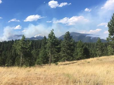Park Creek fire July 24