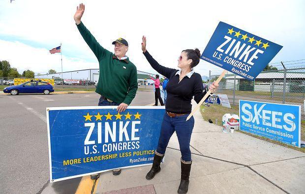 Ryan Zinke Montana House GOP race