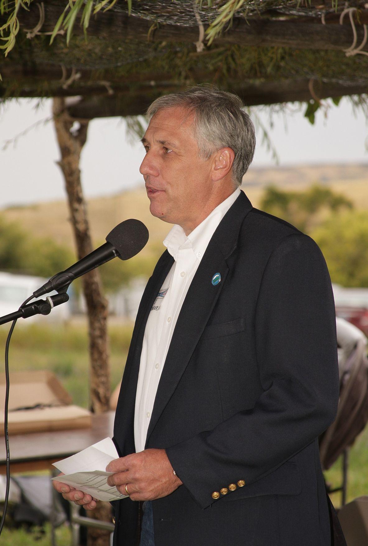 Montana State Parks Director Chas Van Genderen