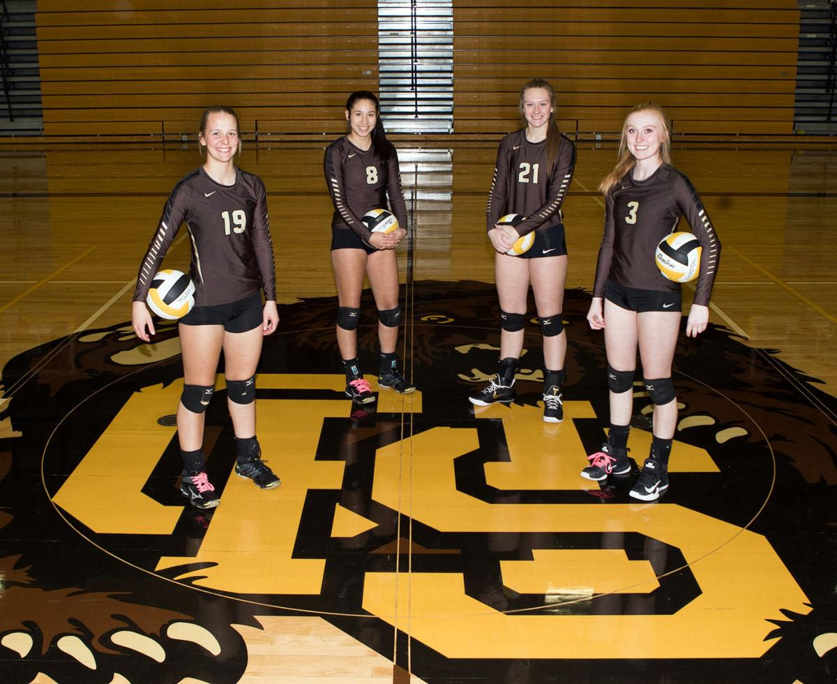 Helena Capital volleyball seniors