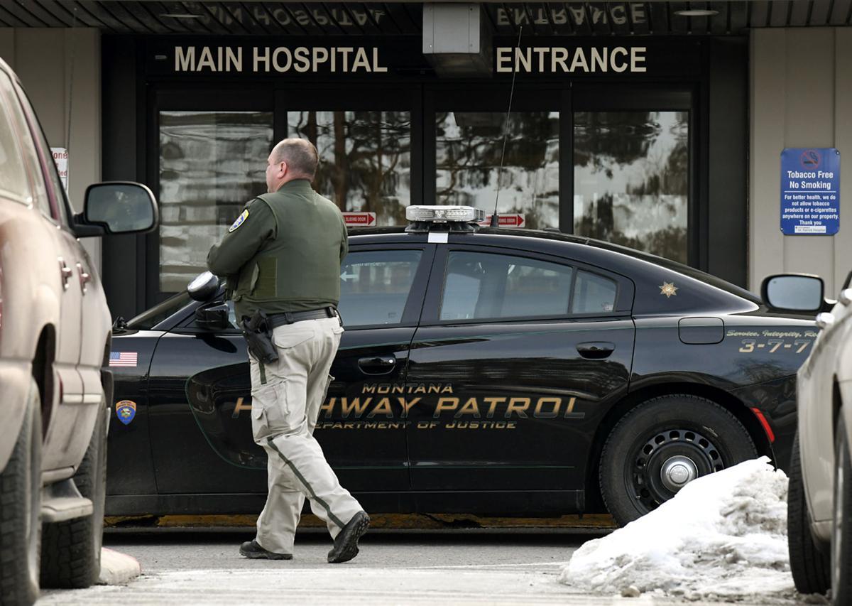 Officers at St. Patrick Hospital