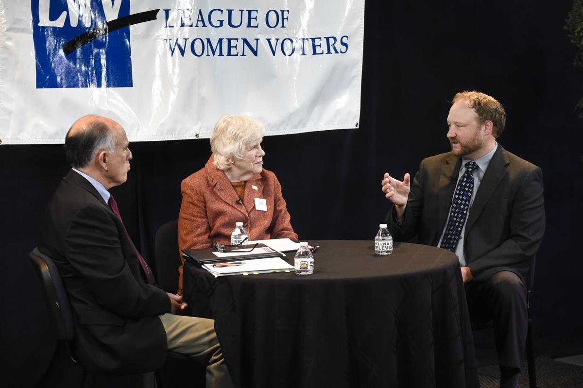 Lewis and Clark County Commission candidates at forum