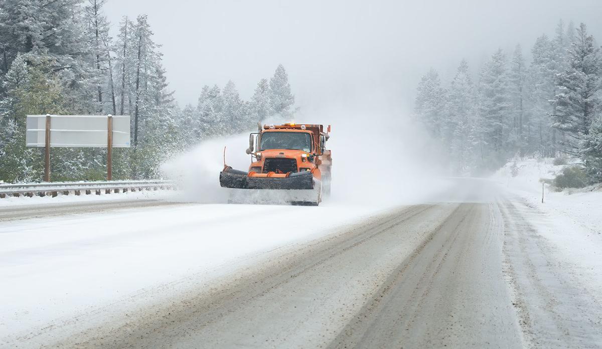 MacDonald Pass snow