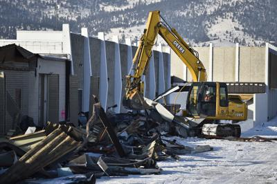 Demolition of the Capital Hill Mall begins Thursday morning.