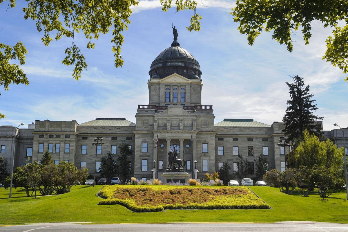 Montana Capitol stockimage