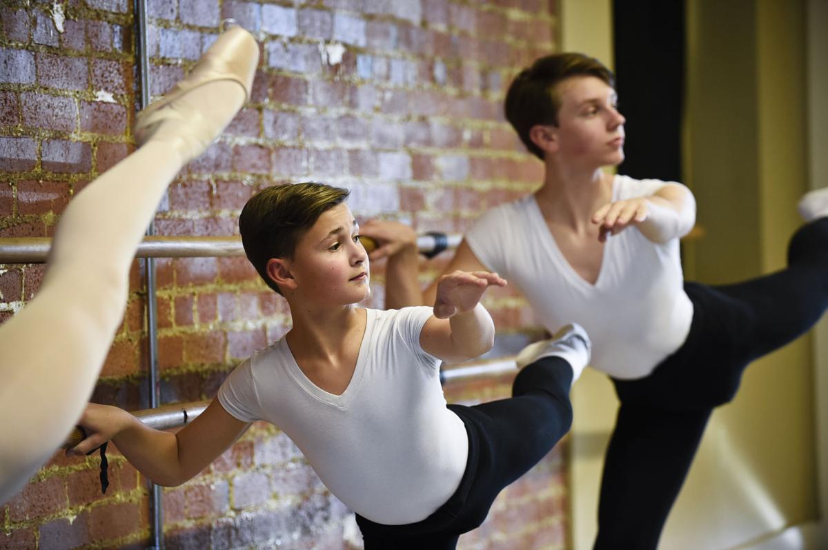 "Josh Fisk and Kaden Pfister step up in Queen City Ballet's ""The"