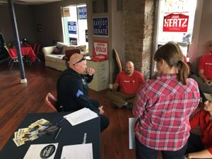 Anti-Kavanaugh protesters occupy Missoula GOP office