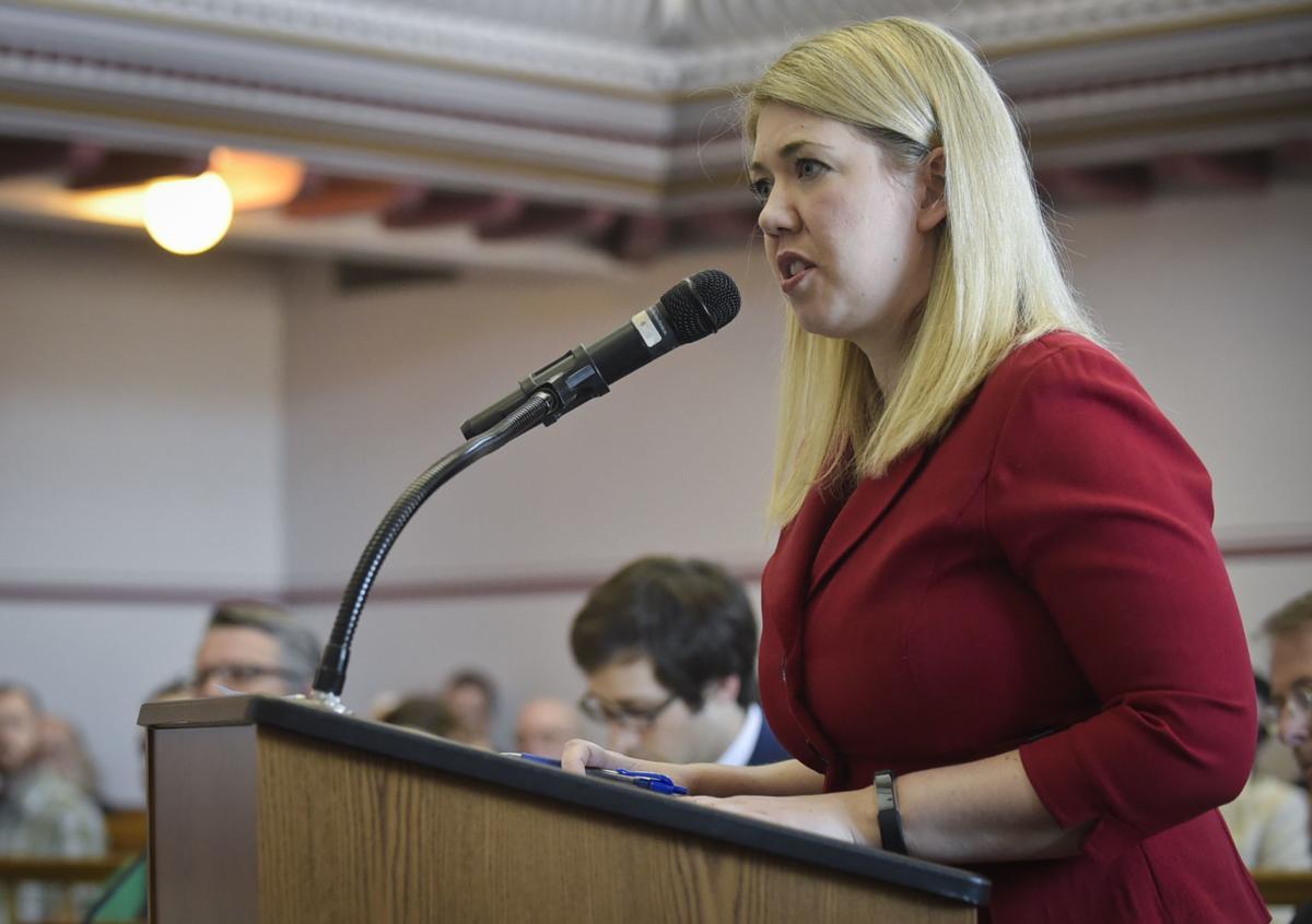 Emily Jones, attorney representing Secretary of State Corey Stapleton,