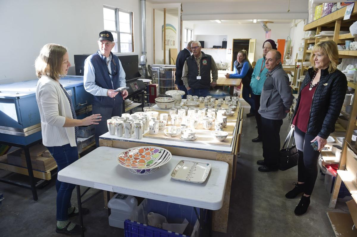 Emily Free Wilson gives a tour of Free Ceramics