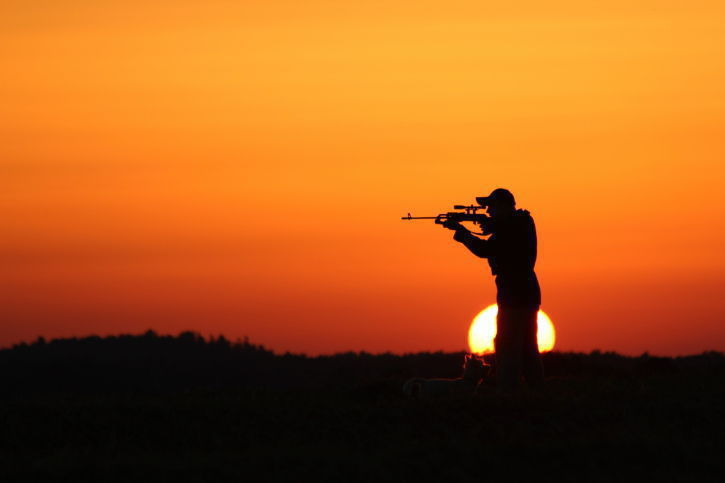 hunting stockimage