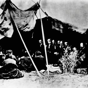 1868: Fort Laramie Treaty of 1868