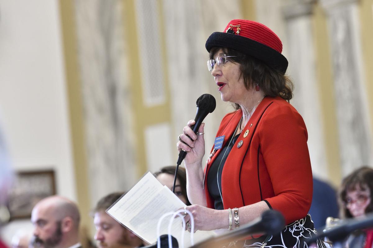 Rep. Lola Sheldon-Galloway, R-Great Falls,