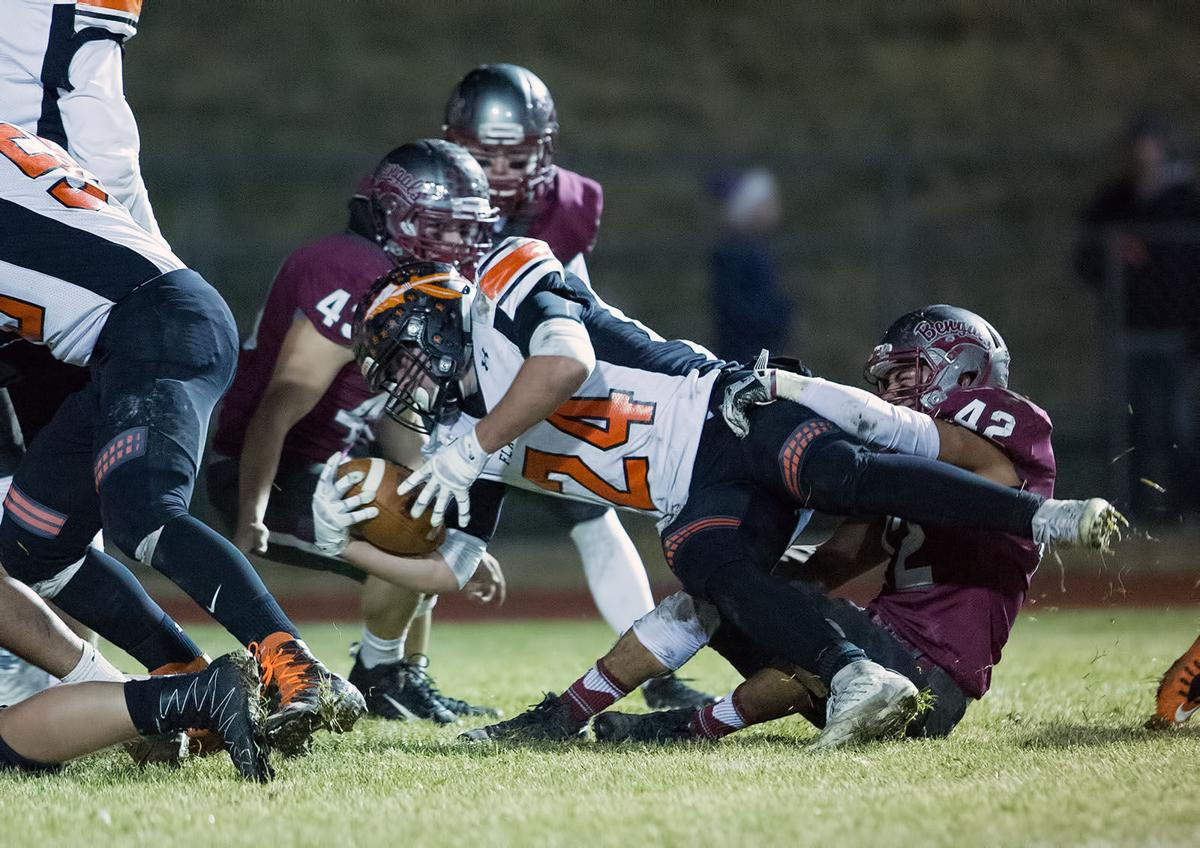 football; HHS vs Flathead