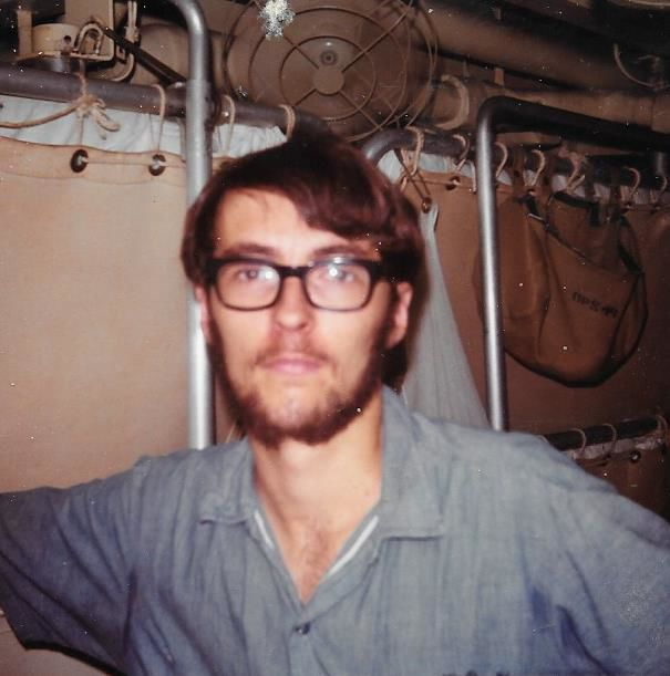 Radioman Mark Forbes, UUS Strauss 1972