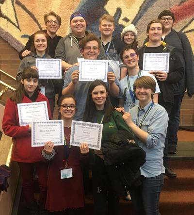 HHS, CHS thespian winners