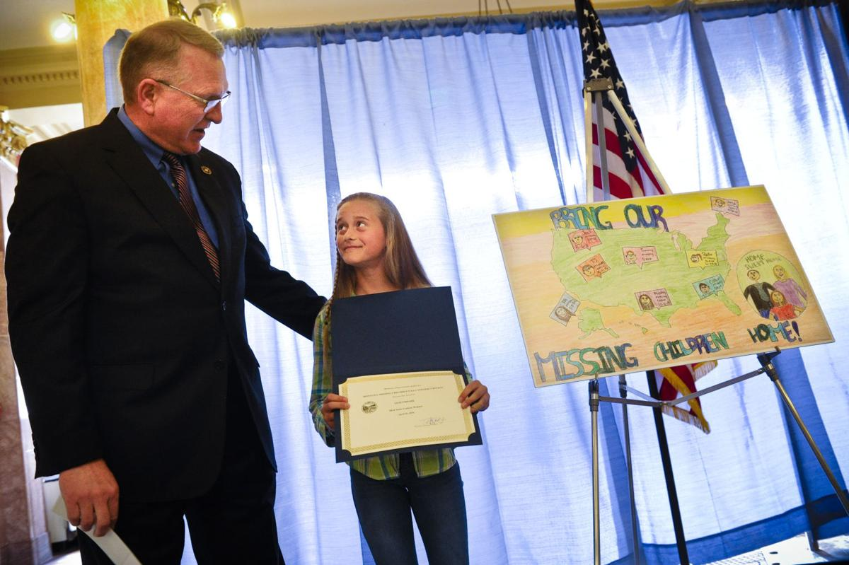 Feature Photo: East Helena student wins Missing Children Poster Contest