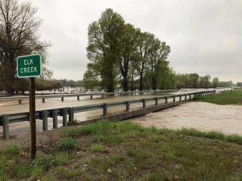 Elk Creek Bridge near Augusta