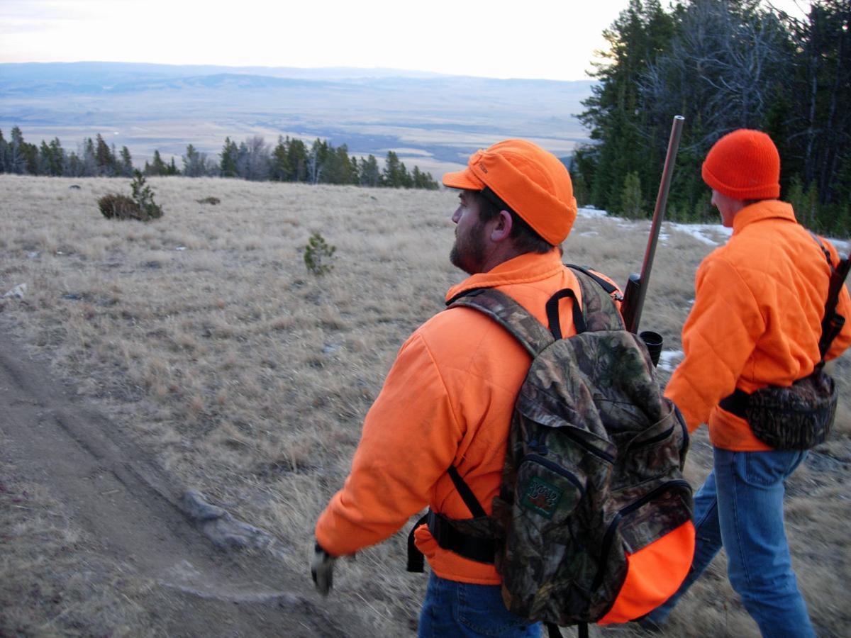 hunters hunting