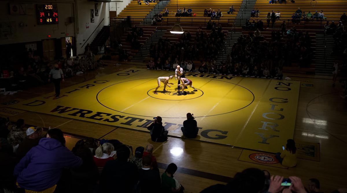 wrestling; Crosstown