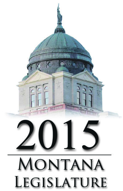 2015 Montana Legislature IR vertical graphic logo icon - print only