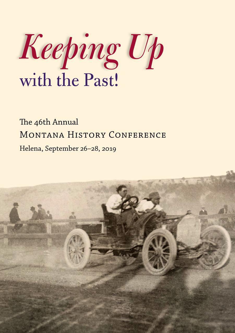 Montana History Conference program