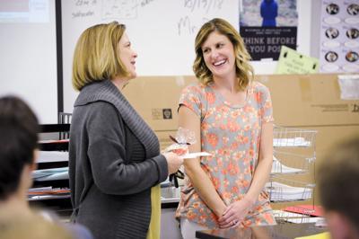 Christina Siemenski, a Helena High science teacher,