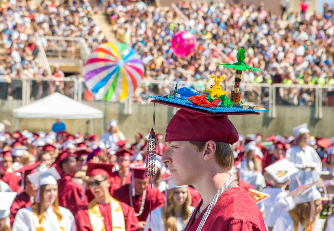 Helena High School's graduation ceremony took place at Nelson St-6-2ndary for cover