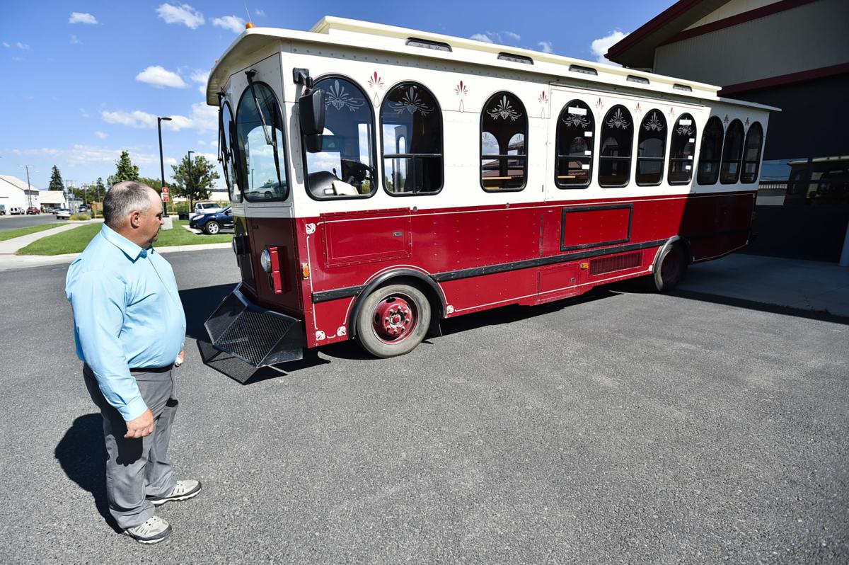 The trolley was in operation from the 1900s to the mid-2000s.