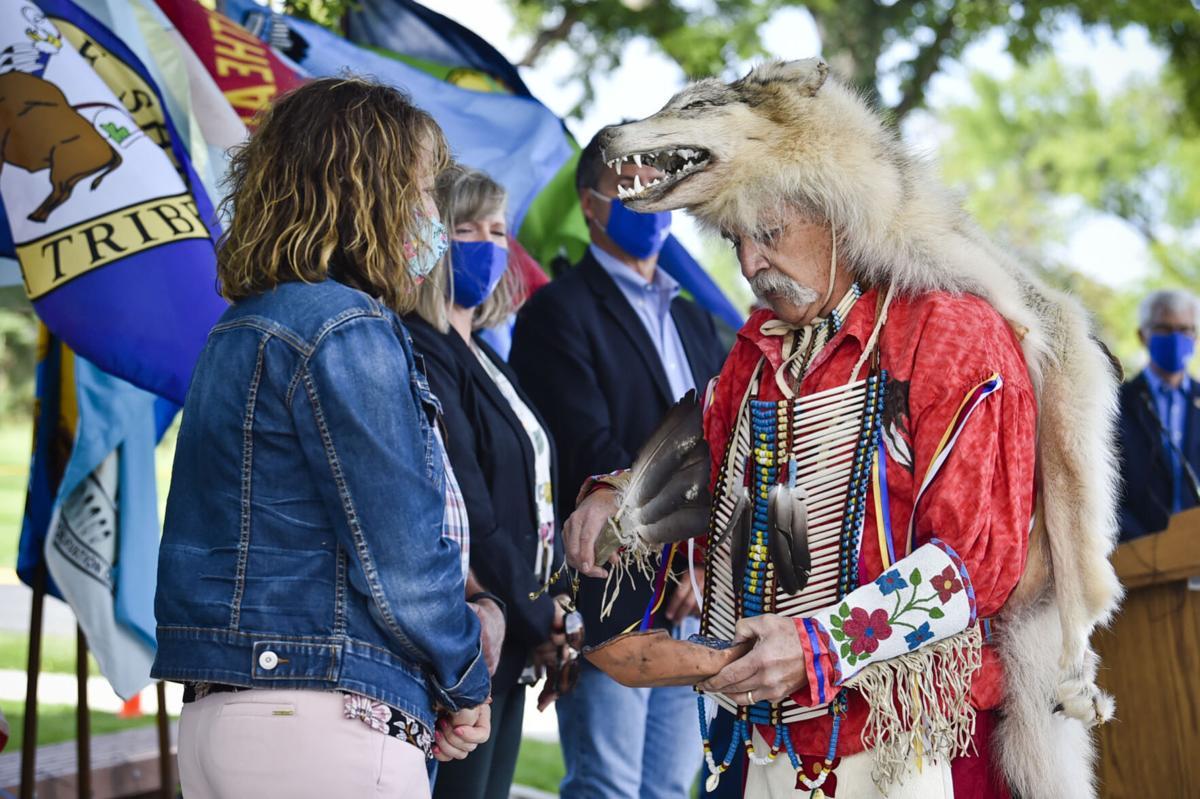 Steve Lozar, Montana Historical Society board trustee and member of the Salish, Kootenai, and Assiniboine tribes