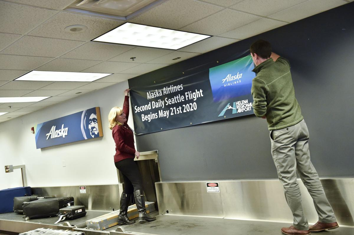 Helena Regional Airport officials announced Monday