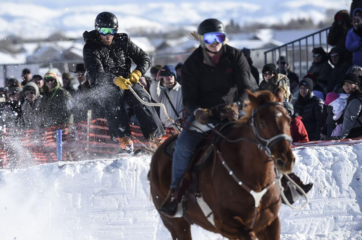 Last Chance Skijoring: Race for the Gold 1