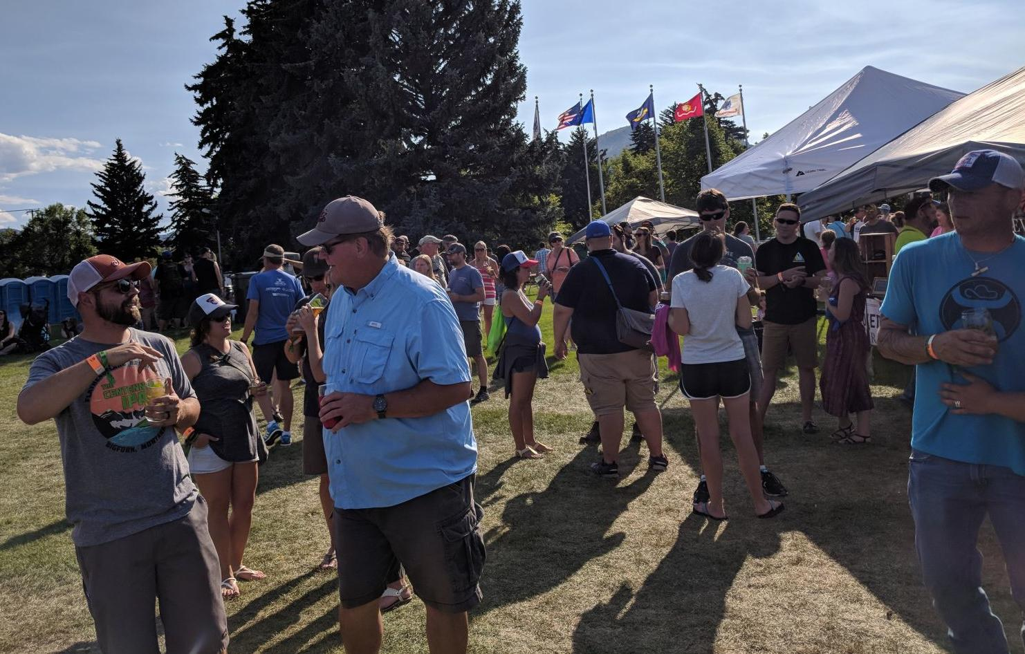 Montana Brewers Summer Rendezvous At Memorial Park