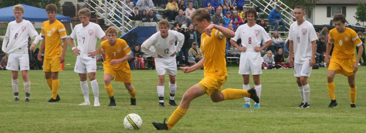 Caleb Hoxie crosstown soccer