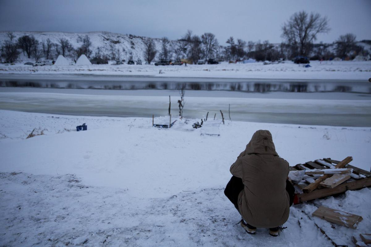 Next test for pipeline protesters — the North Dakota winter