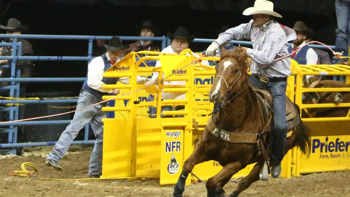 Billings Team Roper Clay Tryan Shares 1st Place In Eighth