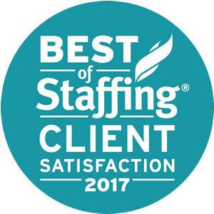 Westaff Best of Staffing Client