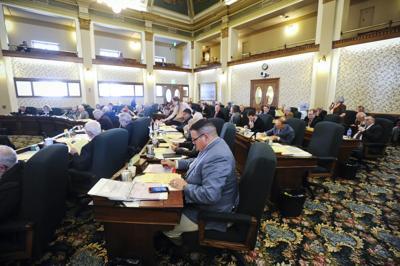 The Montana Senate works through bills Wednesday