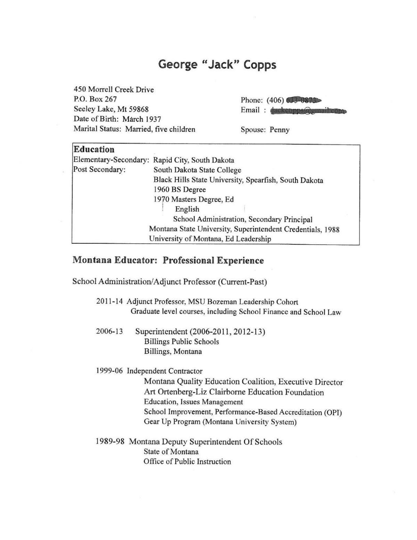 Msu dating resume