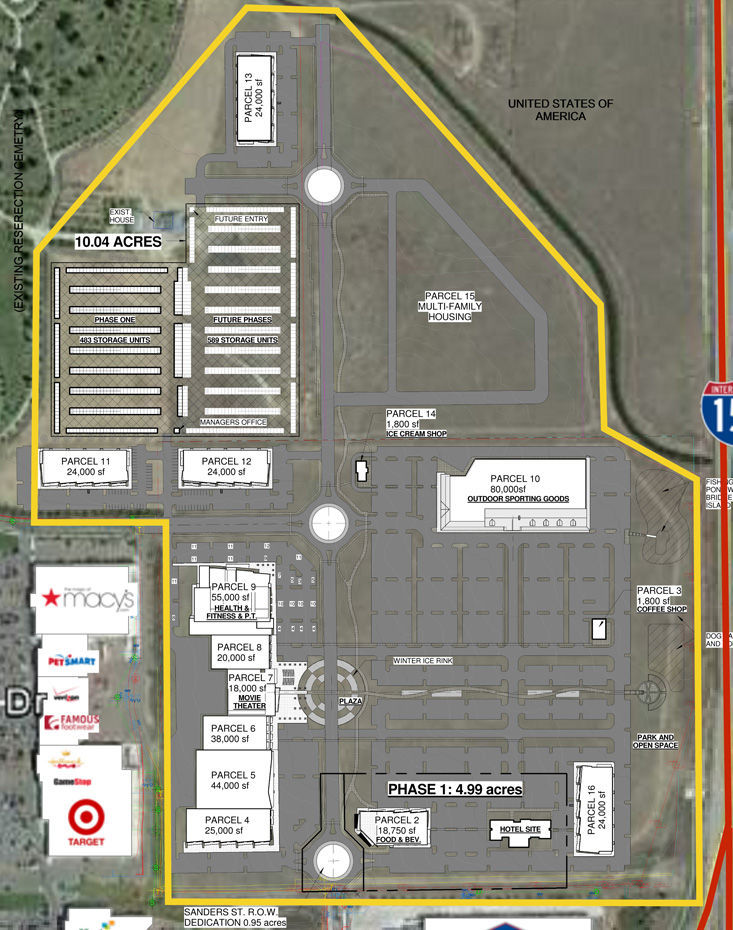 Trinity Center Site Plan