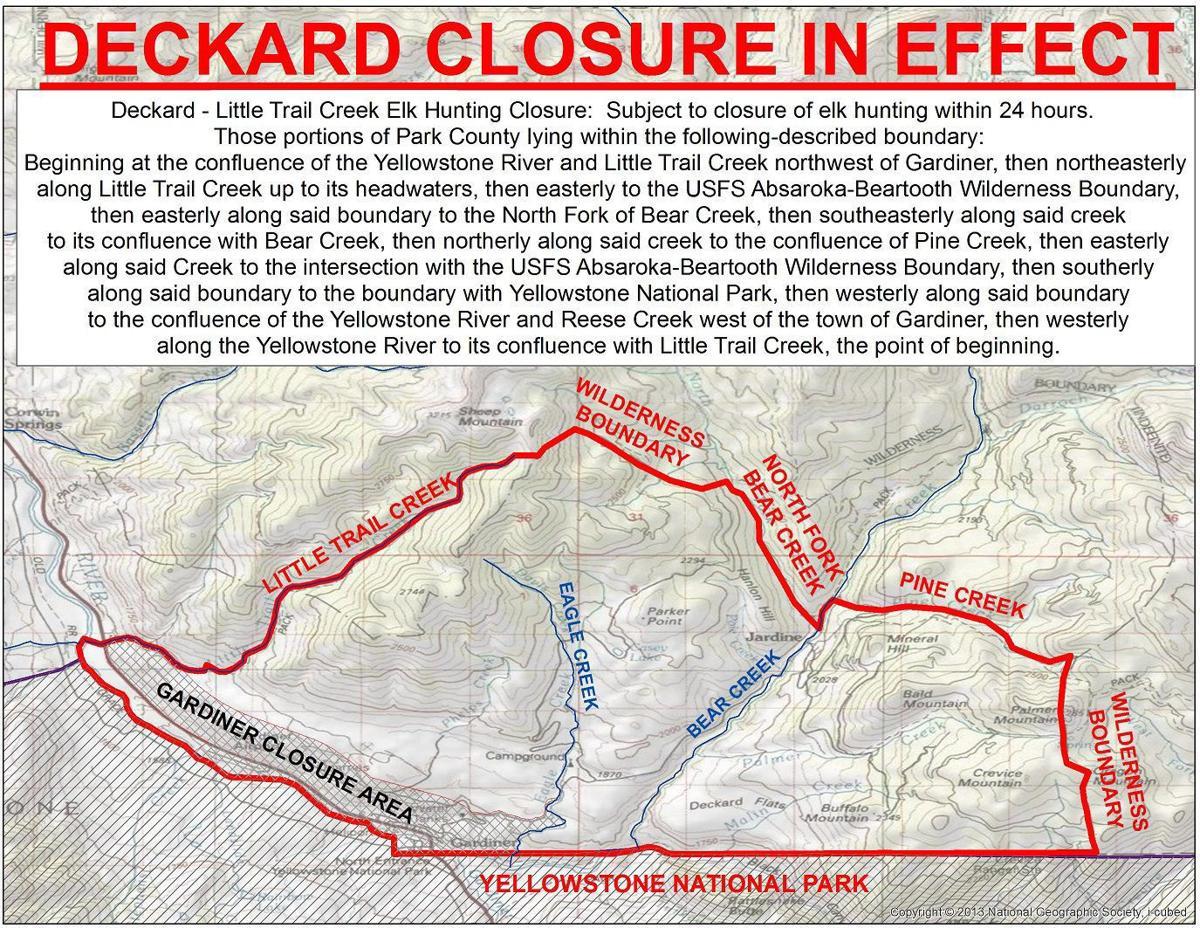 HD 313 emergency closure map