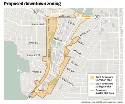 Proposed downtown zoning