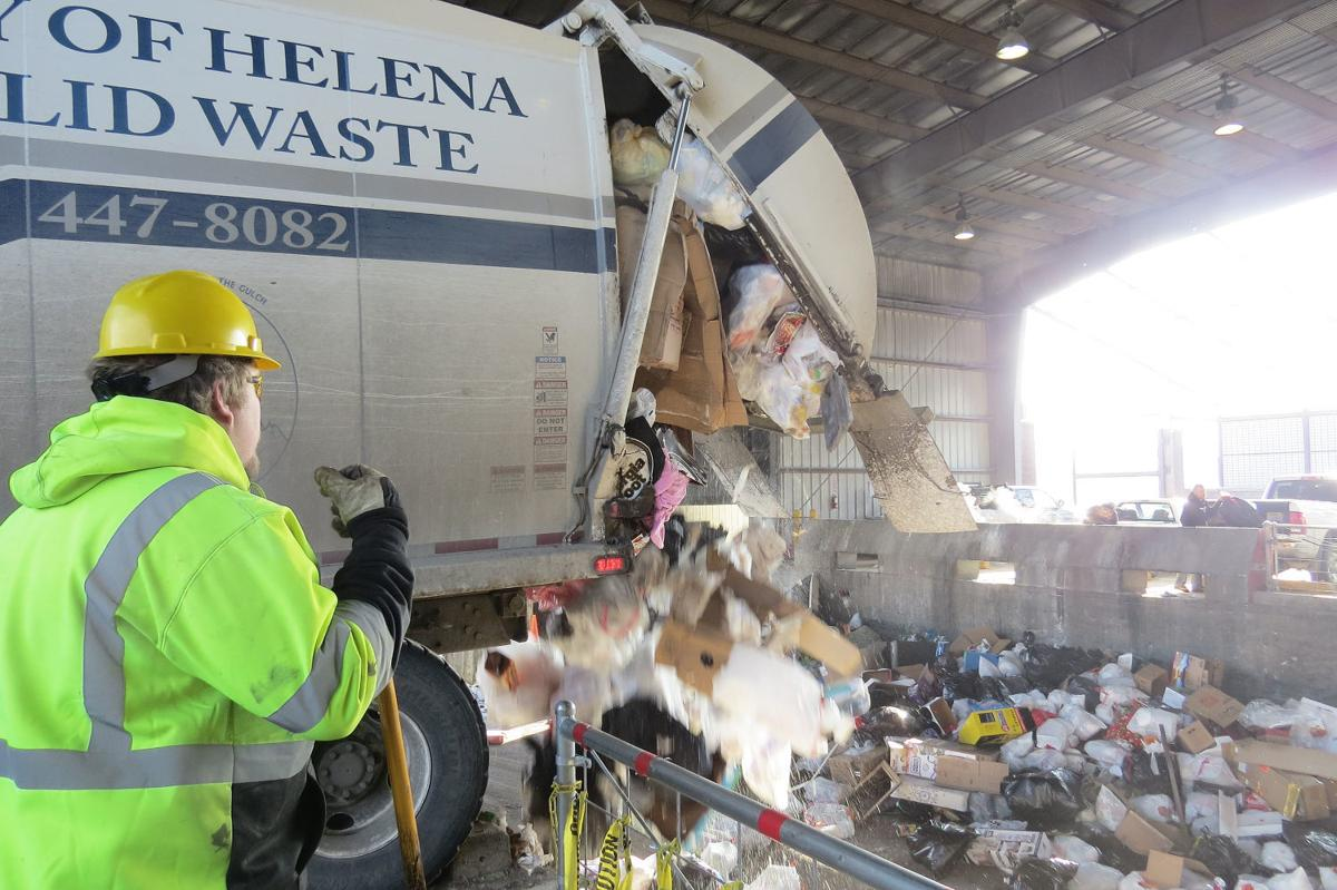 A city of Helena solid waste department employee