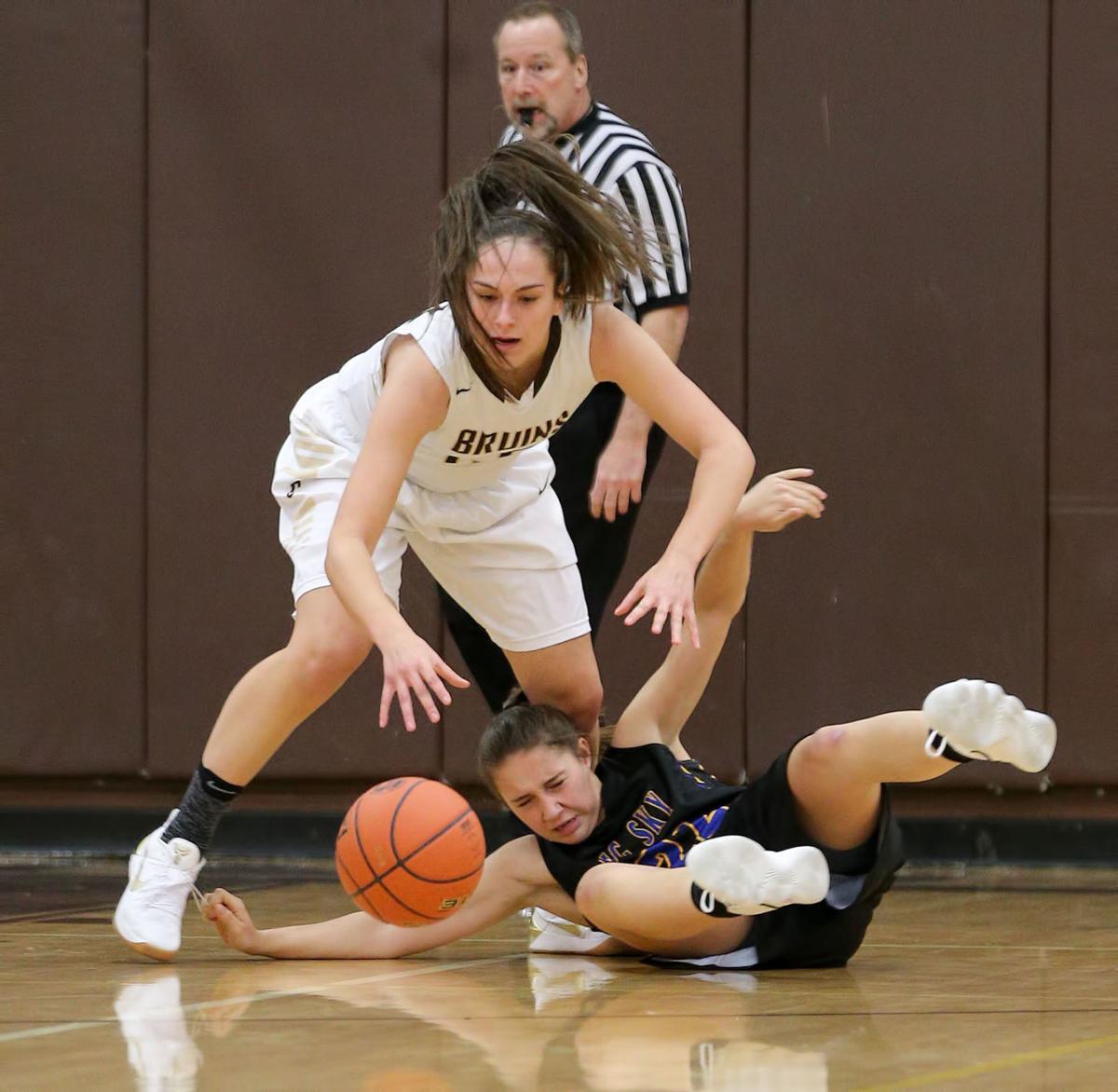 girls basketball; CHS vs Big Sky