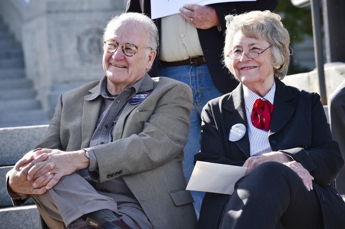 Williams' parents,
