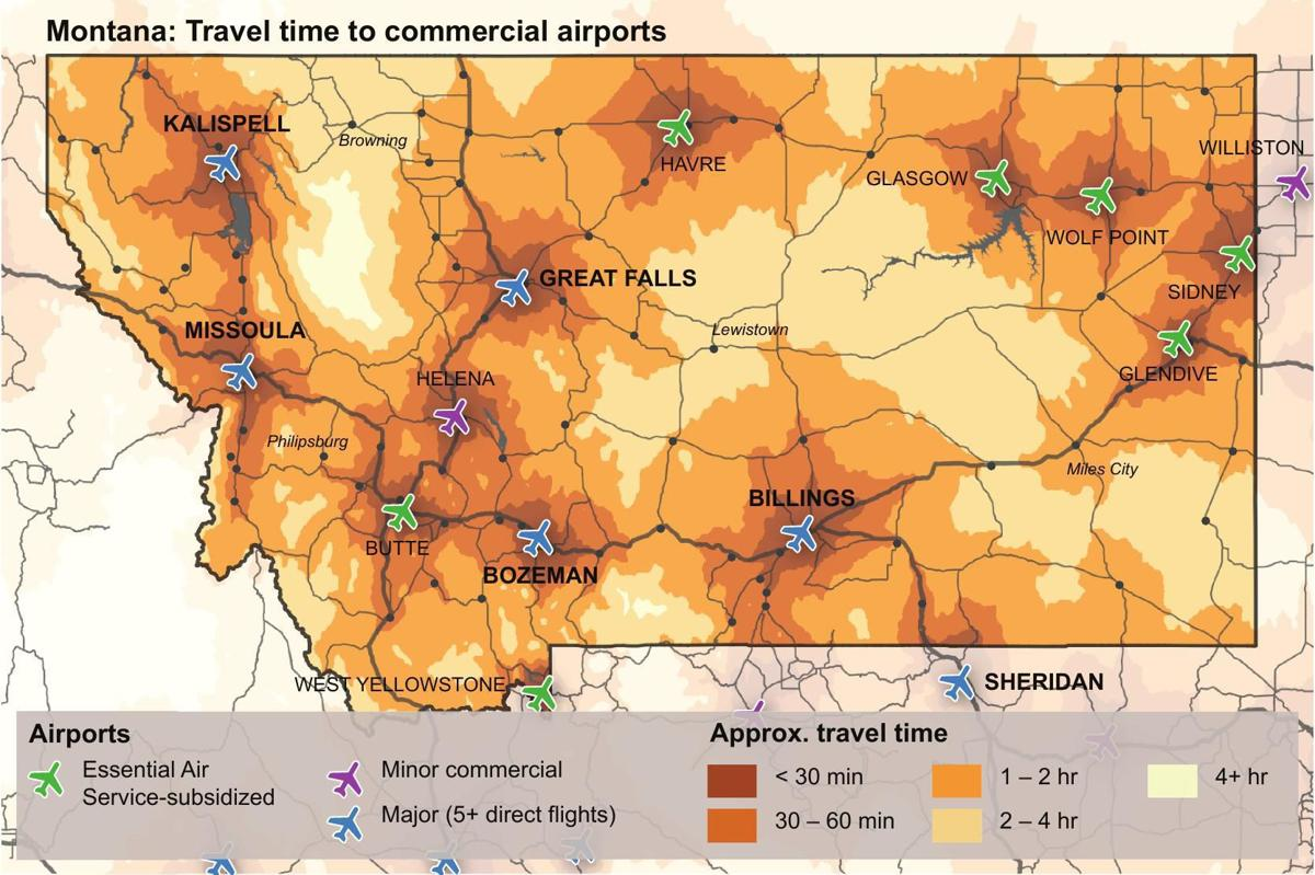 All commercial airports