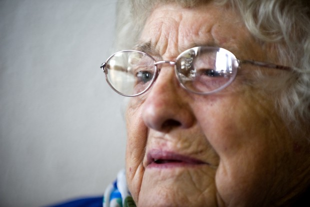 Irene Roberts taking classes at 95-years-old